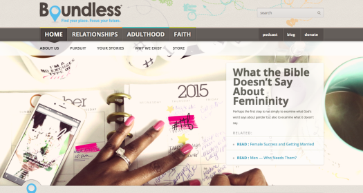 Boundless Home Page