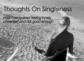 Before entering into this season of marriage I spent a lot of time being single. I struggled during this season to be content. One night my entire perspective was shifted and I stopped viewing singleness as a bad thing.