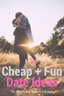 CHEAP + FUN Date Night Ideas!