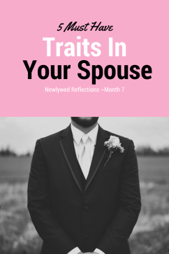 5 Traits I'm Glad I didn't Settle on in My Husband My husband is not perfect but he exemplies these 5 traits related to good character. Whether you're single or dating conisder these traits.