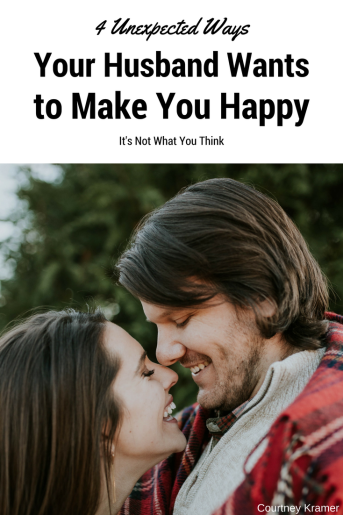 4 Unexpected Ways Your Husband Wants to Make You Happy